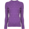 HUISHAN ZHANG crystal embellished sweate - Pullovers -