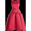 HUISHAN ZHANG pink satin dress - Vestiti -
