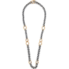 HUM Sterling-silver & 18kt gold necklace - Naszyjniki -