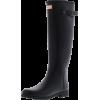 HUNTER black rain boot - 靴子 -