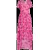 HVN Brynn Tiered Silk Chiffon Dress - Dresses -