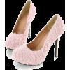 Hairy Cashmere High Hills - Schuhe -