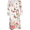 Hale Bob Flower And Butterfly Print Dres - Dresses - $359.51