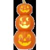 Halloween Stacked Pumpkins - Illustrations -