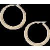 Halogen Hoop Earrings - Uhani -