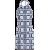 Halter halter strap plaid dress - Vestidos - $25.99  ~ 22.32€