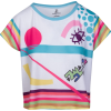 Hand Drawn Playful Print Relax Fit Tee - T-shirt - $46.00  ~ 39.51€