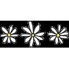 Handdrawn Daisy Trio - Piante -