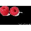 Handmade Raspberry Stud Earrings - Aretes - $34.50  ~ 29.63€