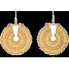 Hanut Singh 18K Gold disk earrings - Earrings -