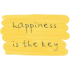 Happiness is key - Texte -
