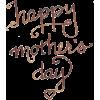 Happy Mothers Day - Textos -