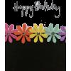 Happy Birthday - Fondo -