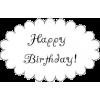 Happy Birthday - Texte -