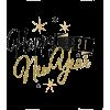 Happy new year 2021 Sticker Designed by - Textos -