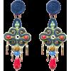 Havana Heart, Soutache earrings - Naušnice -