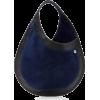 Hayward Tear Drop Small Leather-Trimmed - Torbice -