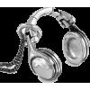Headphones Necklace #music #oldschool - Necklaces - $45.00