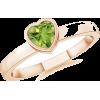 Heart Peridot Ring - Rings - $319.00