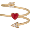 Heart + Arrow Ring - Bracelets -