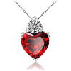 Heart Necklace - Necklaces -