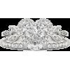 Heart Shaped Diamond Unique Engagement R - Anelli -