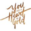 Heart of Gold text - 插图用文字 -