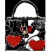 Hearts & Roses Mini Box Bag - Hand bag - $62.00