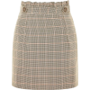 Heritage Check Frill Mini Skirt - Skirts -
