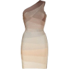 Herve Leger nougat apple blossom dress - Dresses -