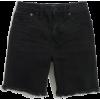 High-Rise Mid-Length Denim Shorts in Lu - Hose - kurz - $69.50  ~ 59.69€
