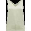 High V-neck silk cami top £125 - Koszulki bez rękawów -