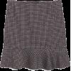 High Waist Mini Skirt - Skirts -