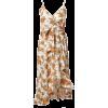 High-low Printed Cami Mini Dress - Dresses -