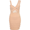 Dresses Beige - Vestidos -