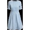 H&m Denim Dress in Blue - Dresses -