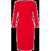 Hobbs Red Alexa Dress - Dresses -