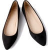 Holly Black Suede Flats - Flats -