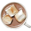 Hot chocolate and Marshmallows - Getränk -