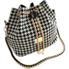 Houndstooth Drawstring Bag - Anderes -