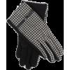 Houndstooth Gloves - Gloves -