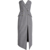 Houndstooth Midi Front Split - Anderes -