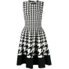 Houndstooth Sleeveless Dress - Anderes -