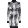 Houndstooth Turtle Neck Dress - Anderes -