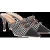 Houndstooth mules - Klasične cipele -