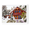 House winter - Background -