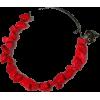 Howlite Stainless Steel Bangle Bracelet - Bracelets - $14.50