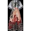 Hussein Bazaza embroidered midi dress - Dresses -