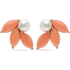 ICONERY Pearl and Coral Earrings - Kolczyki - $1,100.00  ~ 944.77€
