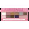 I Heart Chocolate Eyeshadow Palette Pink - Cosmetica -